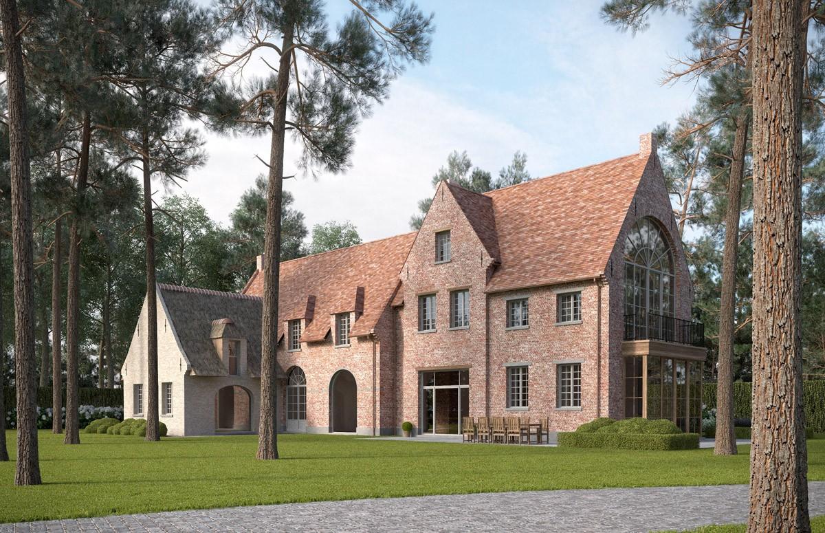 Landelijke villa bouwen van een huis in landelijke stijl for Lijst inrichting huis