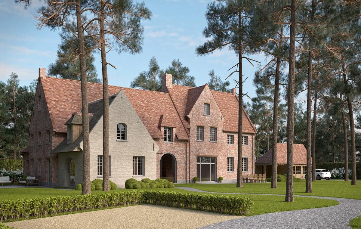 Landelijke villa bouwen van een huis in landelijke stijl for Architect landelijk